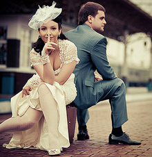 невеста, флирт