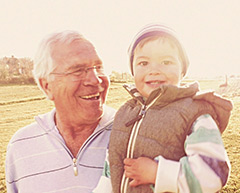 Дед с внуком