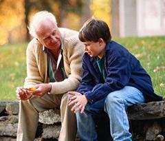 Разговор с дедом