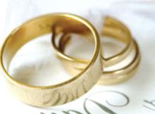 коротко о свадьбе - кольца!