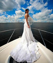 Невеста на яхте
